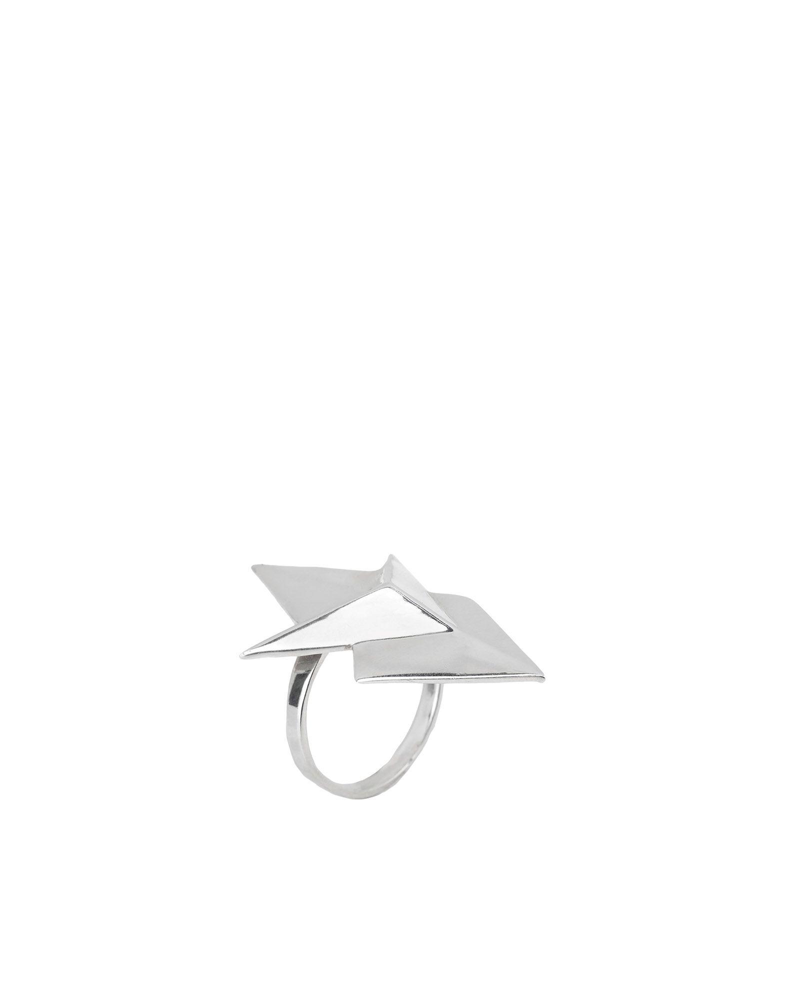 《セール開催中》ANNA MAGA VISCONTI レディース 指輪 シルバー 13 銀