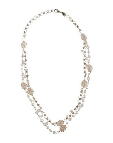 Купить Ожерелье белого цвета