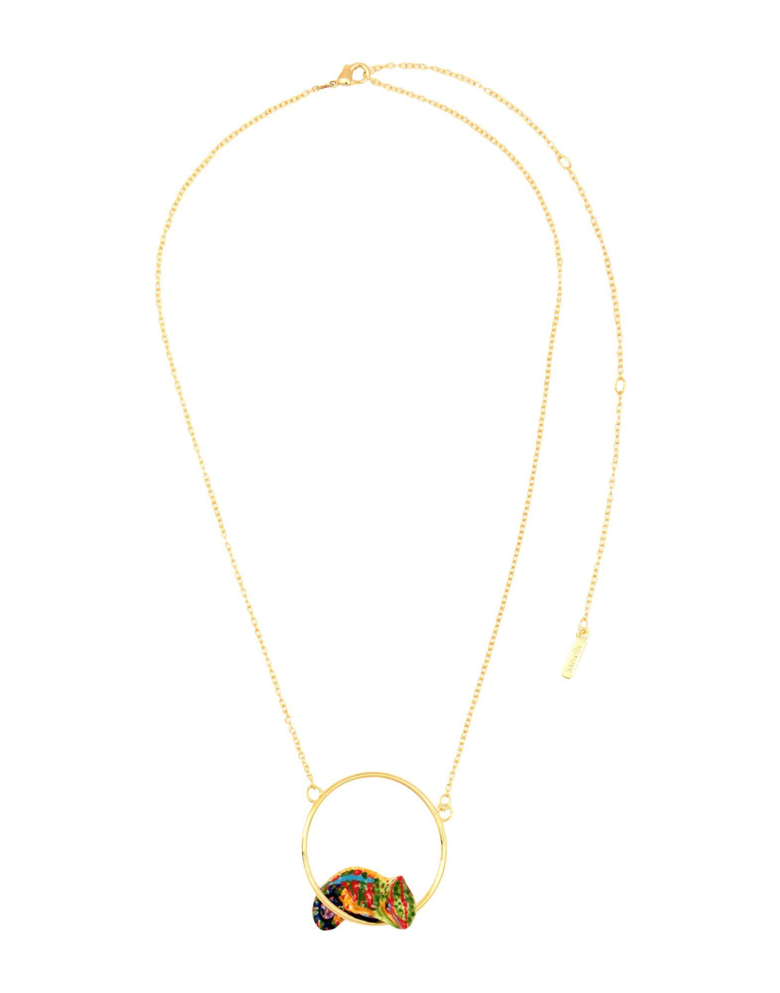《セール開催中》NACH レディース ネックレス ゴールド セラミック 80% / 真鍮/ブラス 20%