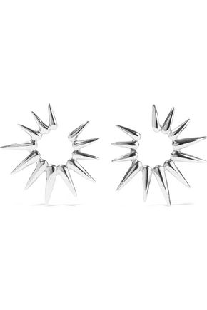 OSCAR DE LA RENTA Silver-tone earrings