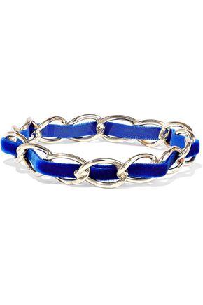 ROSANTICA Gold-tone velvet bracelet