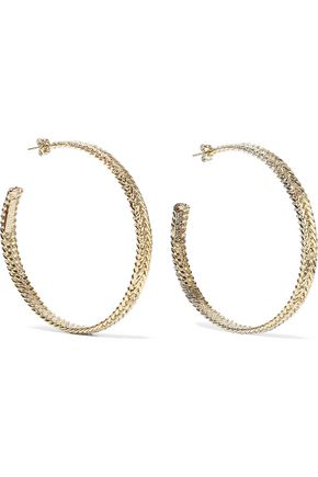 ROSANTICA Cannella gold-tone hoop earrings