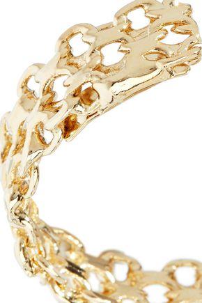 ROSANTICA Lavanda gold-tone hoop earrings