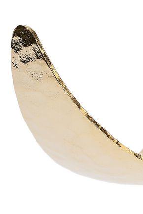 ROSANTICA Timo hammered gold-tone hoop earrings
