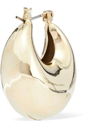 ROSANTICA Salvia gold-tone earrings