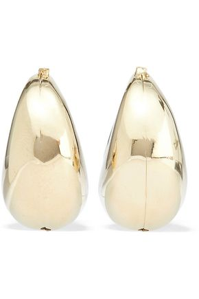 ROSANTICA Salvia gold-tone earrings