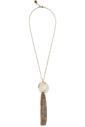 ROSANTICA Gold-tone beaded necklace