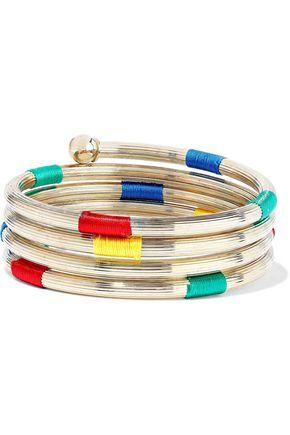 ROSANTICA Sesamo gold-tone cord bangle