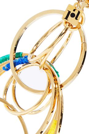ROSANTICA Sesamo gold-tone cord earrings