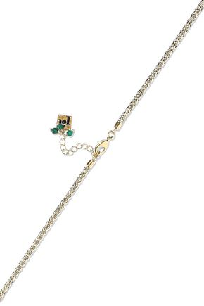 ROSANTICA Gold-tone bead and stone necklace