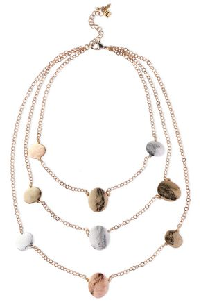 ROSANTICA Gold and silver-tone necklace
