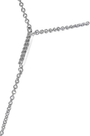 CZ by KENNETH JAY LANE Silver-tone necklace