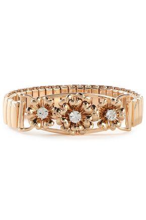 DANNIJO Elaine gold-tone crystal bracelet