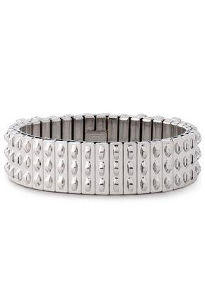 DANNIJO Silver-tone crystal bracelet