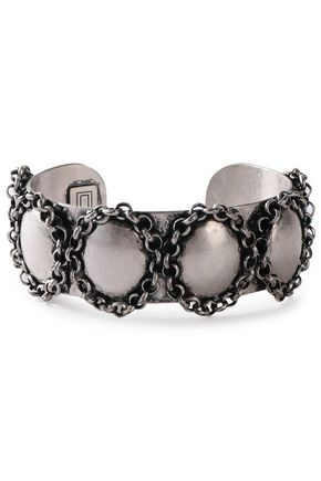DANNIJO Burnished silver-tone cuff
