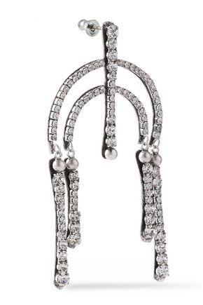 DANNIJO Kamil silver-tone crystal earrings