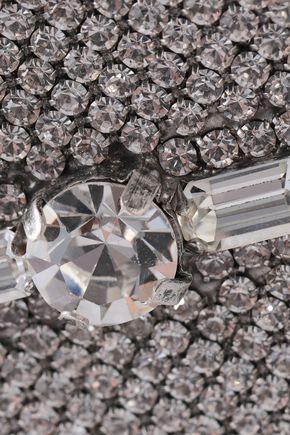 DANNIJO Silver-tone crystal earrings
