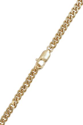 ChloÉ Woman Gold-Tone Crystal Necklace Rose Gold