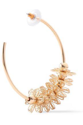 DANNIJO Gold-tone hoop earrings