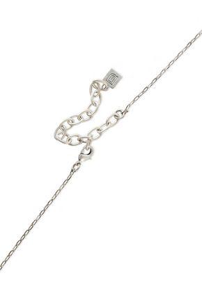 DANNIJO Katina silver-tone crystal necklace