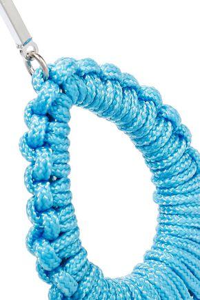 BEN-AMUN Silver-tone cord earrings