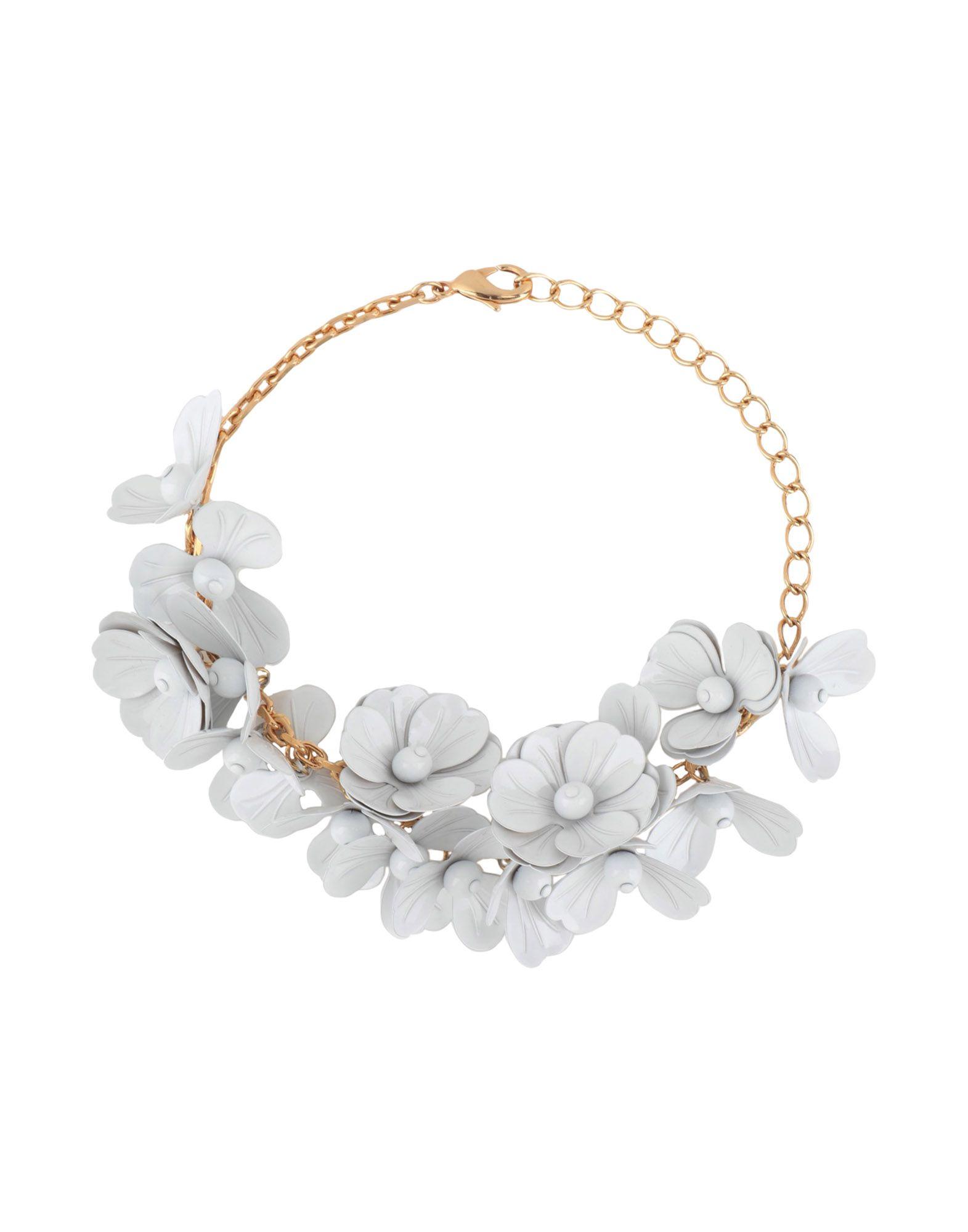 BALMAIN Necklaces. no appliqués, adjustable hook and chain fastening. 100% Brass