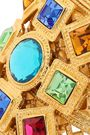 BEN-AMUN 24-karat gold-plated Swarovski crystal cuff