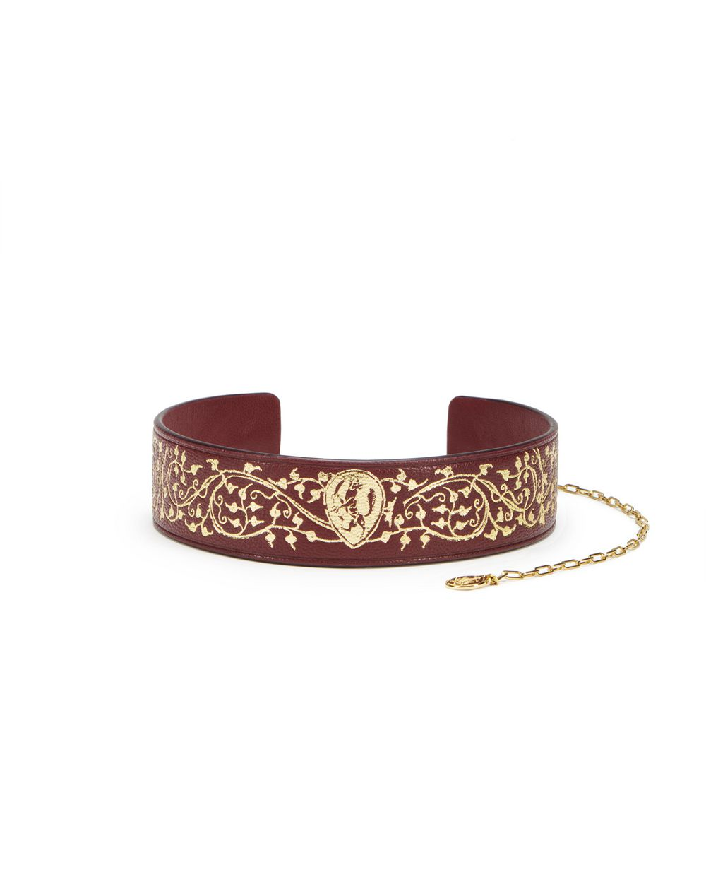 PRINTED LEATHER CHOKER - Lanvin