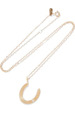 ADINA REYTER 14-karat gold diamond necklace