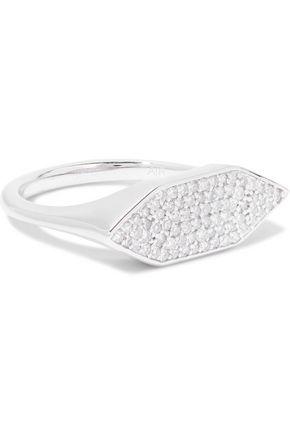 ADINA REYTER Sterling silver diamond ring