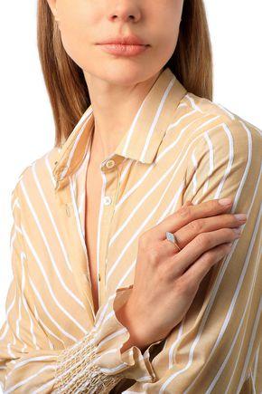 Adina Reyter Woman 14-Karat Gold Diamond Ring Gold