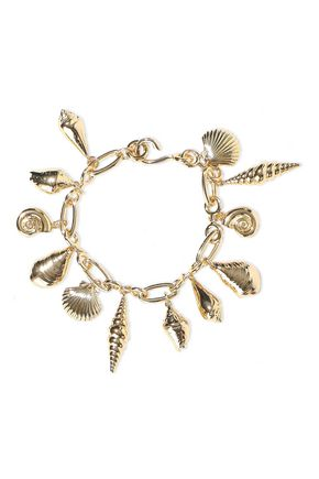 NOIR JEWELRY 14-karat gold-plated bracelet