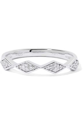 ADINA REYTER Sterling silver diamond ring