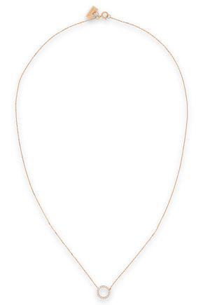 VANRYCKE 18-karat rose gold diamond necklace