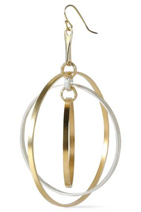 ARIS GELDIS Gold-plated and silver-plated earrings