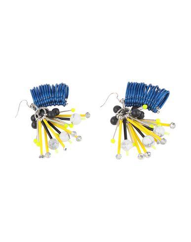 Фото 2 - Женские серьги, клипсы или пирсинг KIRSTY WARD ярко-синего цвета