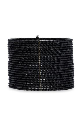 KENNETH JAY LANE Gold-tone beaded cuff