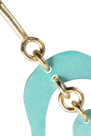SIAN EVANS Androecium gold-plated coated-metal earrings