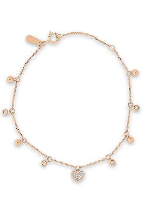 ADINA REYTER 18-karat rose gold diamond bracelet