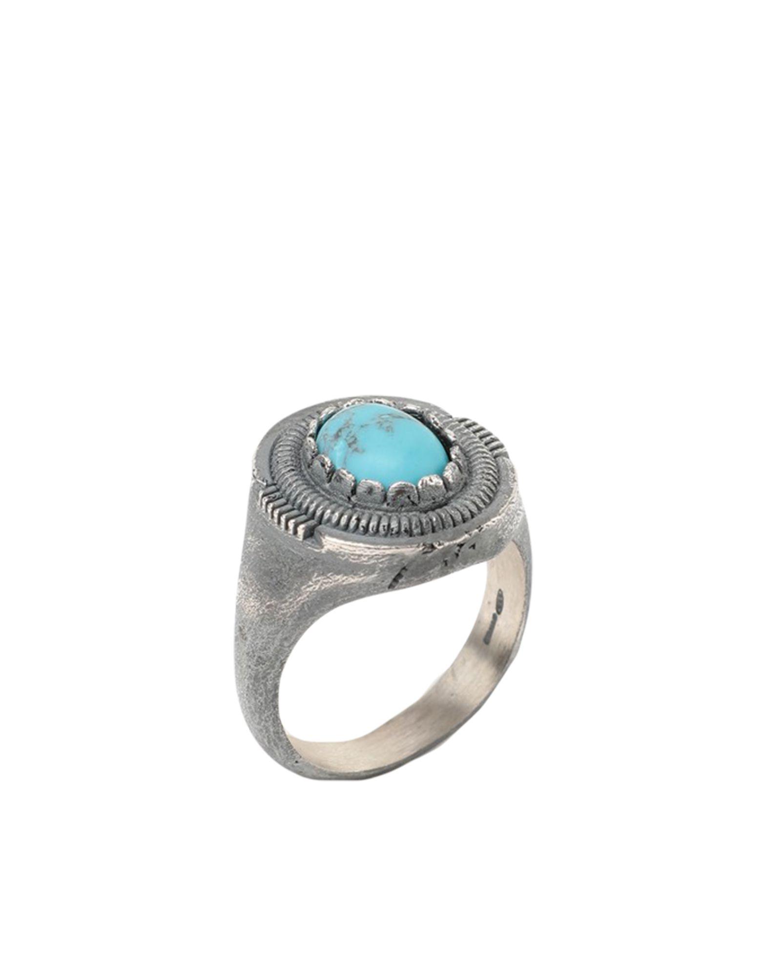 《セール開催中》NOVE25 メンズ 指輪 ターコイズブルー 19 シルバー925/1000 OVAL TURQUOISE SHIELD SIGNET