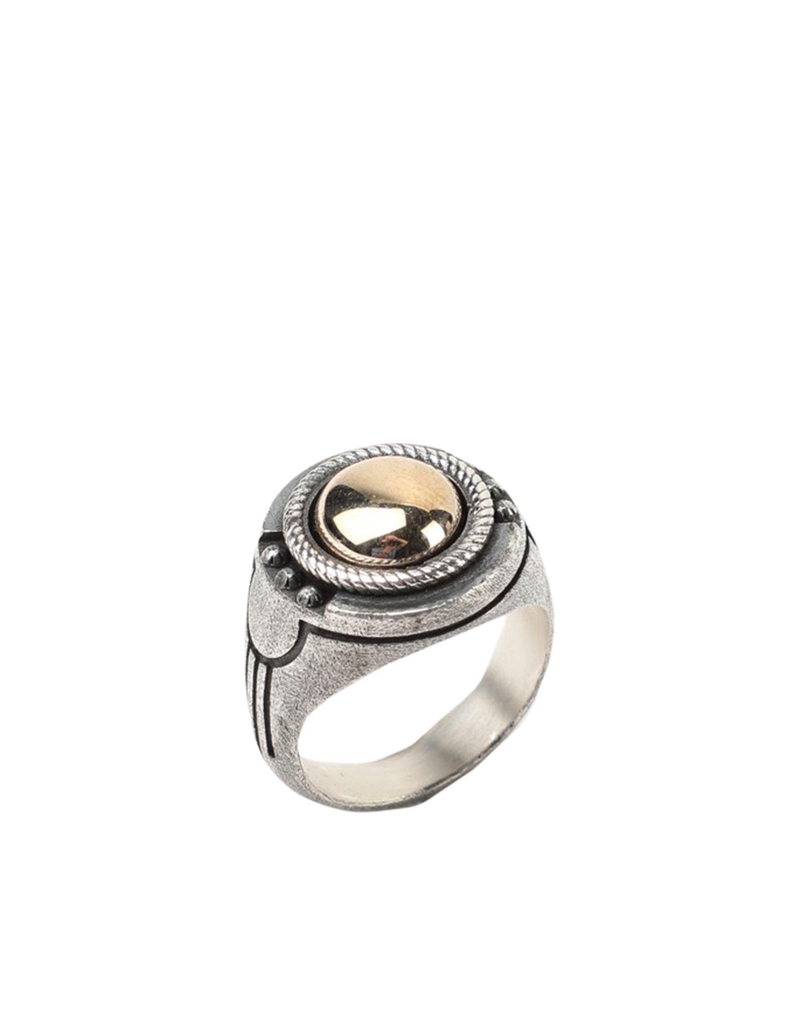 《セール開催中》NOVE25 メンズ 指輪 シルバー 19 シルバー925/1000 BRONZE HIEROGLYPHICS SIGNET