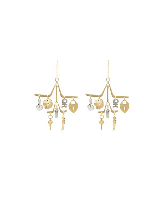 CHARMS EARRINGS - Lanvin
