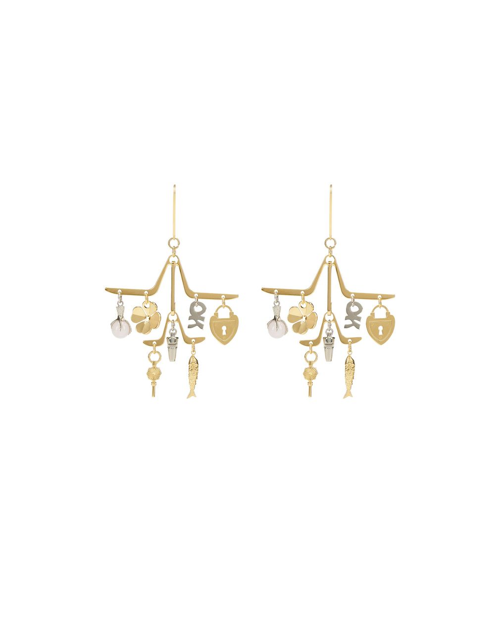 CHARM EARRINGS - Lanvin