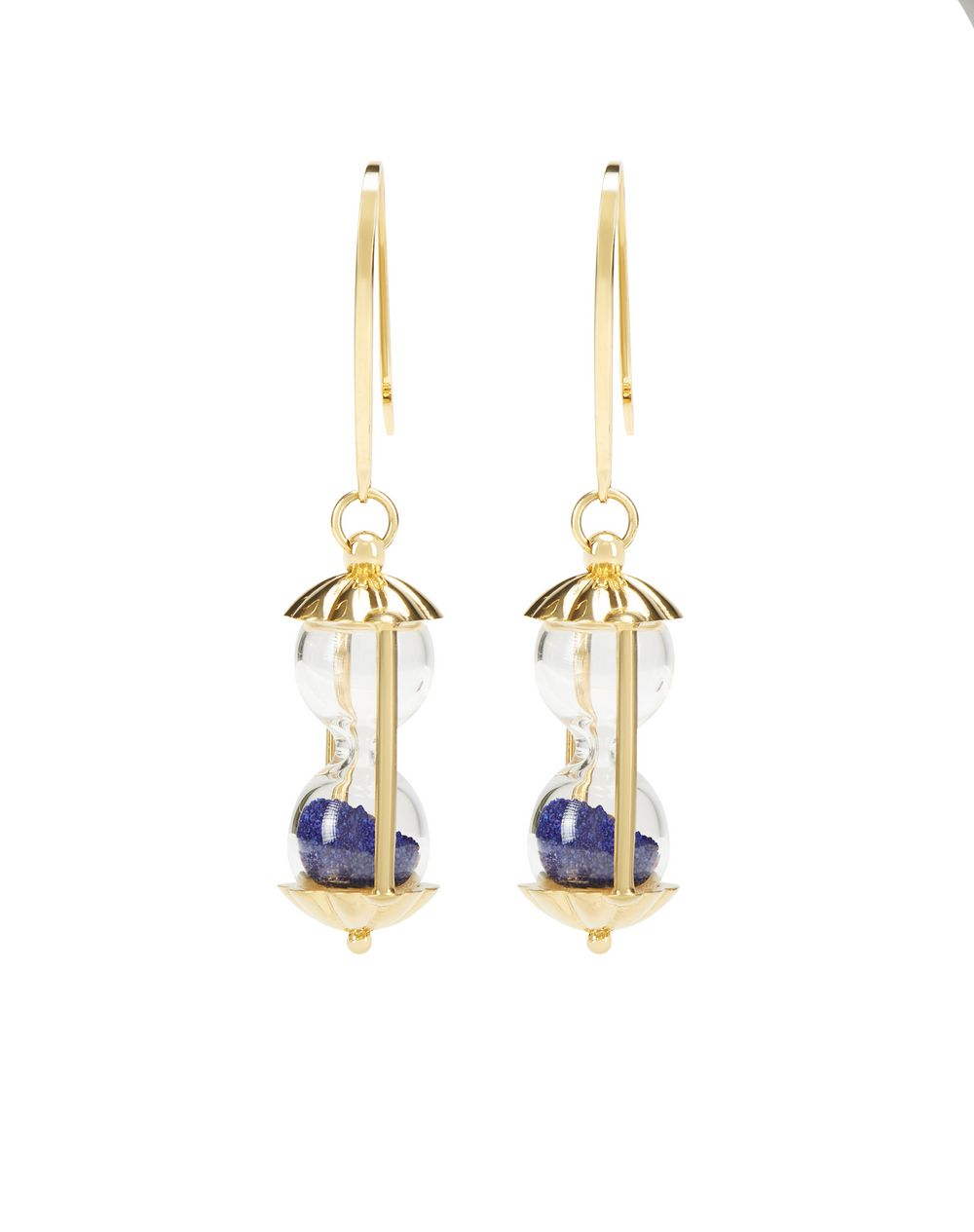 HOURGLASS EARRINGS - Lanvin