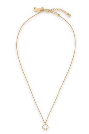 KATE SPADE New York Gold-tone mother-of-pearl necklace