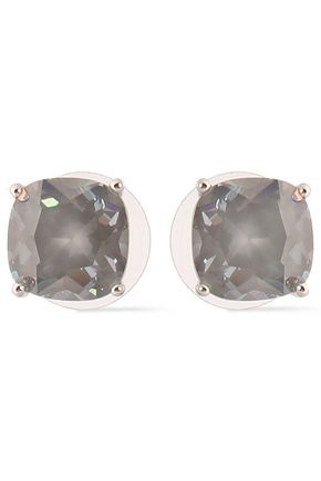 KATE SPADE New York Silver-tone crystal earrings