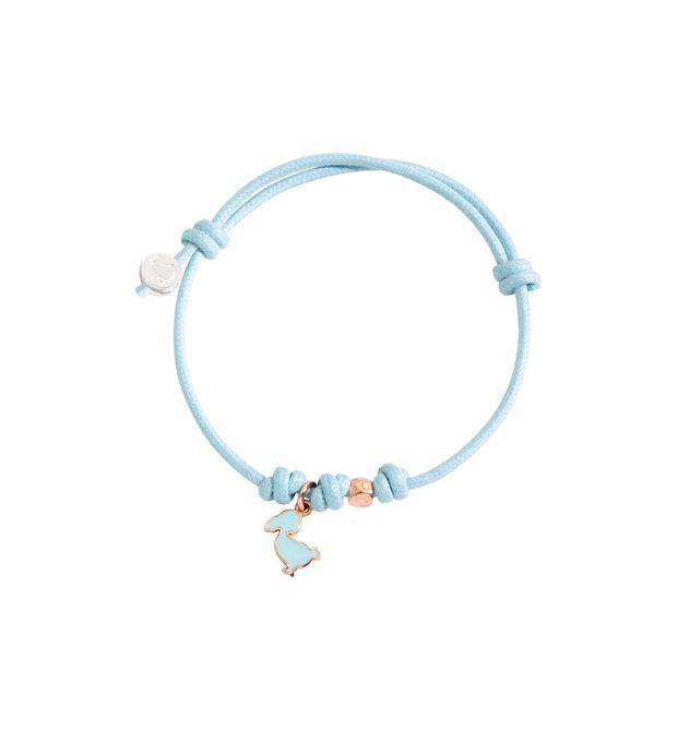DODO Bracelet E Cord bracelet with MUM tag and ringlets f