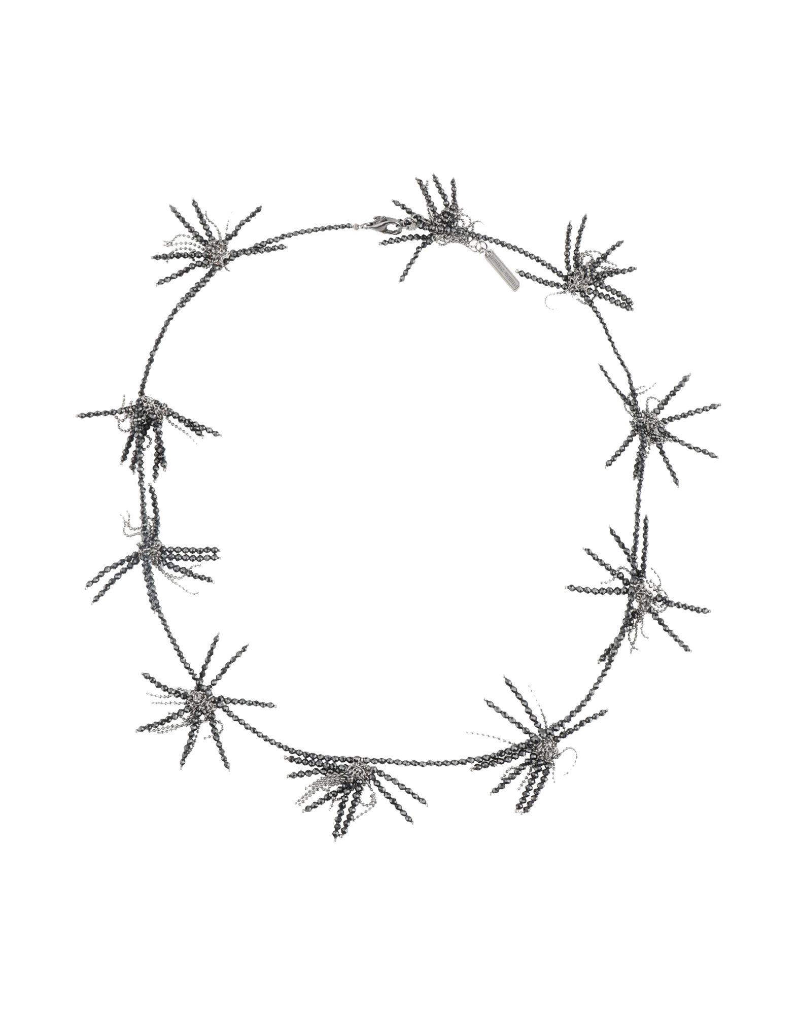 《期間限定セール開催中!》BRUNELLO CUCINELLI レディース ネックレス ブラック 金属