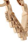 NOIR JEWELRY 14-karat gold-plated earrings