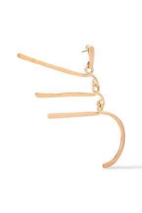 AURÉLIE BIDERMANN Gold-plated earrings